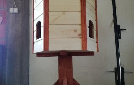 Domek do ogrodu gołębnik